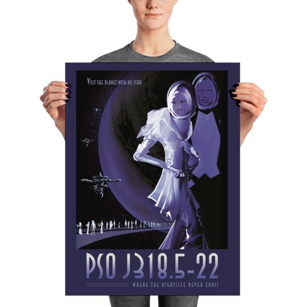 Nasa Exoplanet Poster Ps0 18x24 Zoll